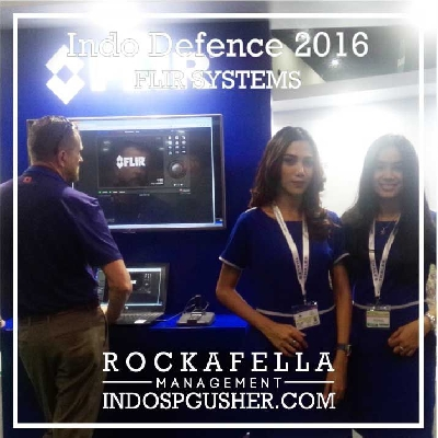SPG_Agency_Jakarta_Bandung_SPG_Event Promoter Girls - FLIR Systems USA : Indo Defence 2016, Indo Marine, Indo Aerospace & Indo Helicopter
