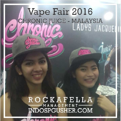 SPG_Agency_Jakarta_Bandung_SPG_Event International Vape Fair 2016 - eCovention Ancol - Chronic Juice
