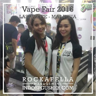 SPG_Agency_Jakarta_Bandung_SPG_Event International Vape Fair 2016 - eCovention Ancol - Lassi Juice